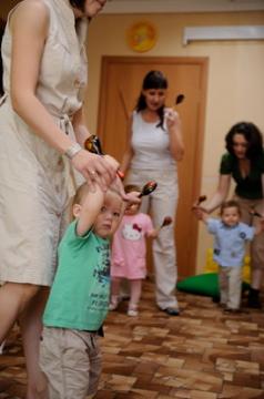 ученическая в детском клубе Orange Baby