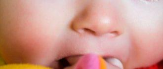 как чистить молочные зубы малыша