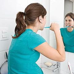 Кровоточивость десен во время беременности