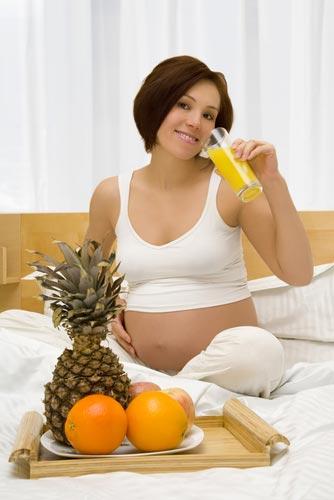 Основы здоровой беременности. Диета и продукты питания.