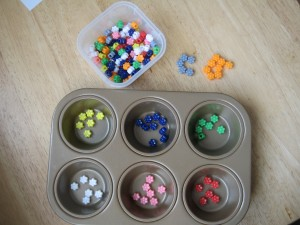 Как обучить малыша цветам?