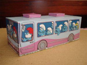 Смурфики - раскраски для детей