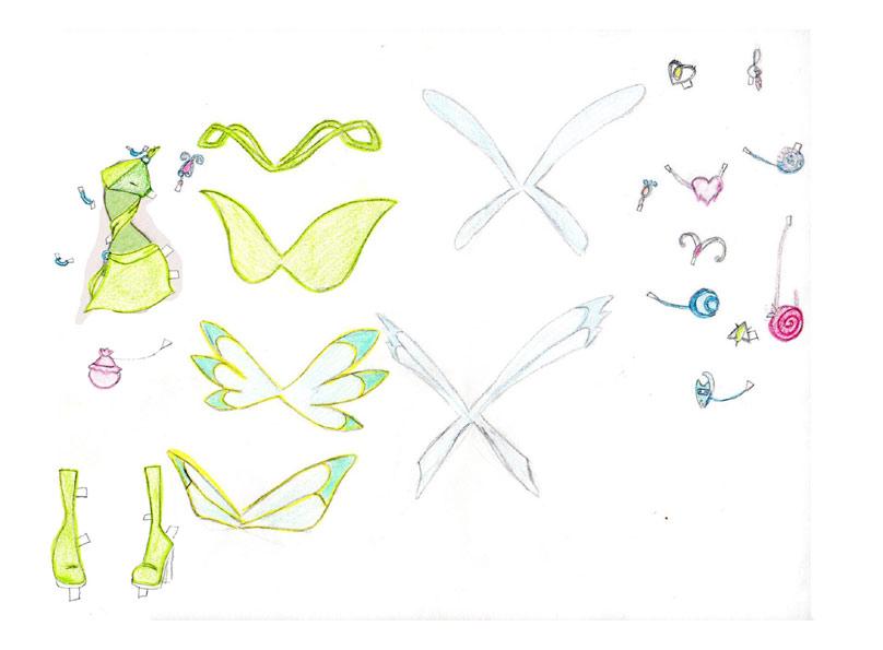 с картинками поделки с винкс специальная краска