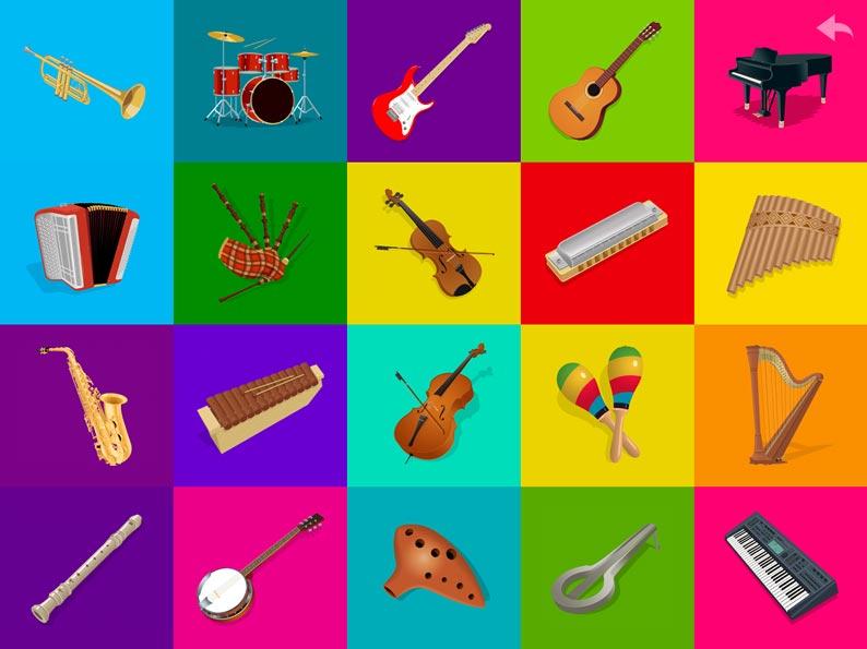Дети с музыкальными инструментами фото и названия