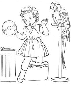 Раскраска: перелетные птицы для детей и не только