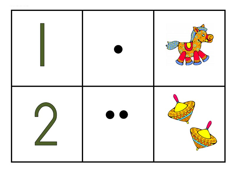 игрушки и цифры картинки