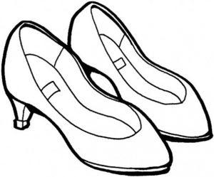 Раскраски одежды и обуви