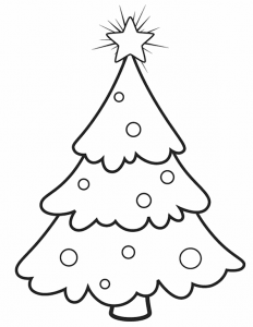 Новогодние раскраски для детей к 2018 году
