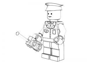 Раскраски: Лего сити, Нинзяго, Звездные войны и другие