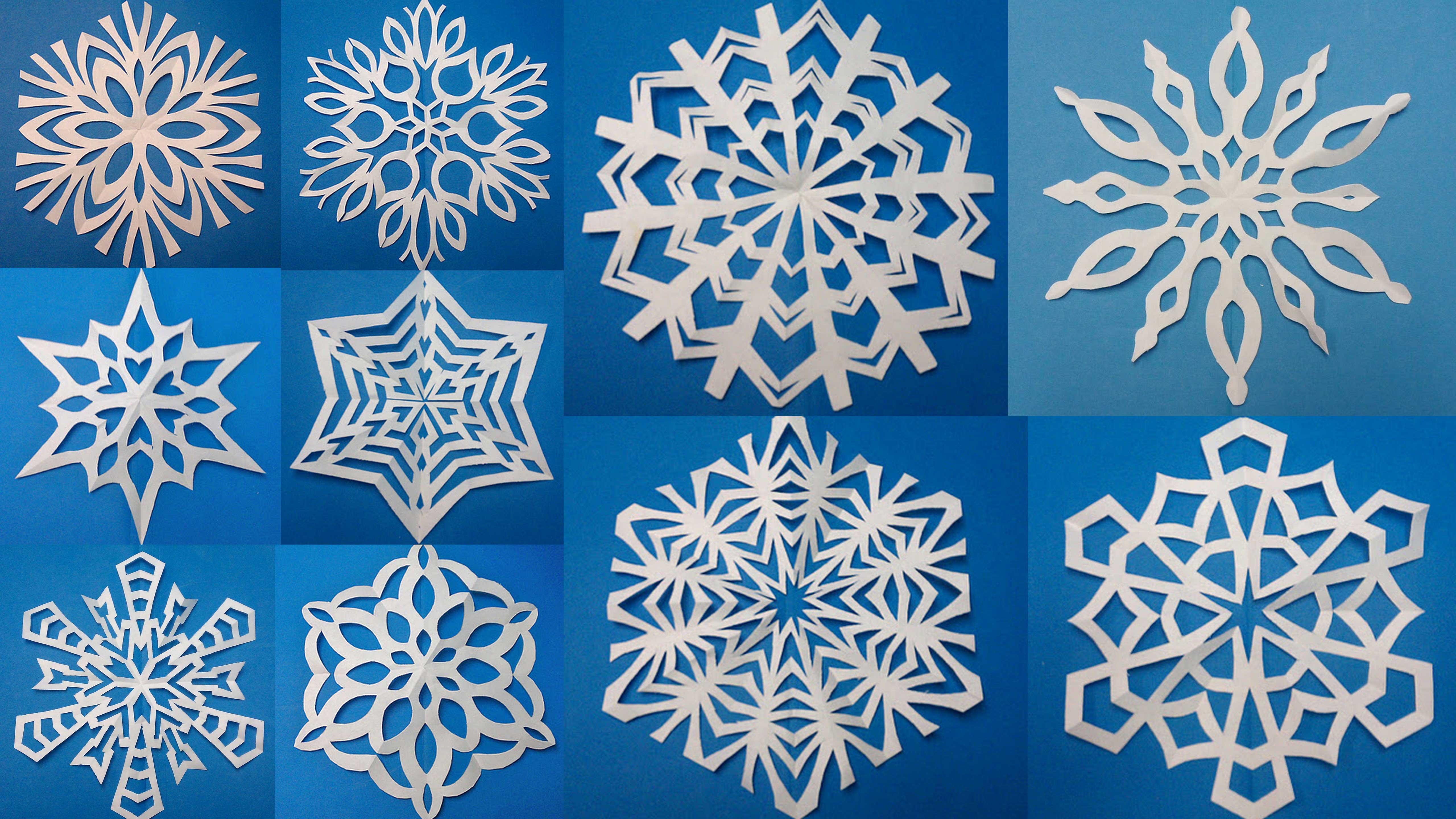 Картинка снежинка своими руками