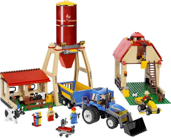 лего ферма картинка