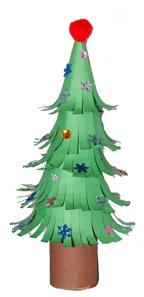 поделка елка