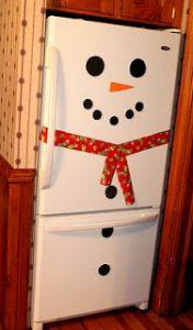 Поделка снеговика и снежной бабы для детей