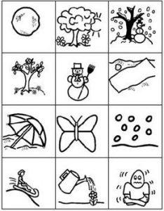 Зимние раскраски для детей