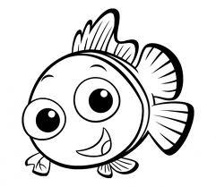 31 Рыбки раскраски