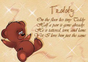 cтихи на английском для детей
