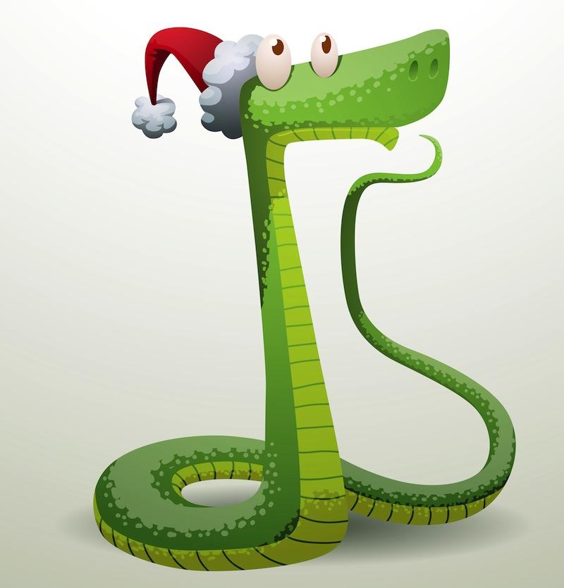 Картинка год змей