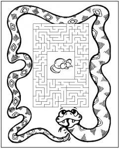Детские картинки со змеей