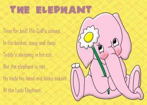 Английские стихи для детей с переводом и без