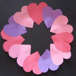 Делаем поделки ко Дню всех Влюбенных - 14 февраля