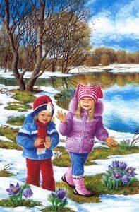 vesnakartinki4 197x300 Весна картинки для детей