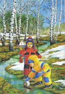 vesnakartinki5 208x300 Весна картинки для детей