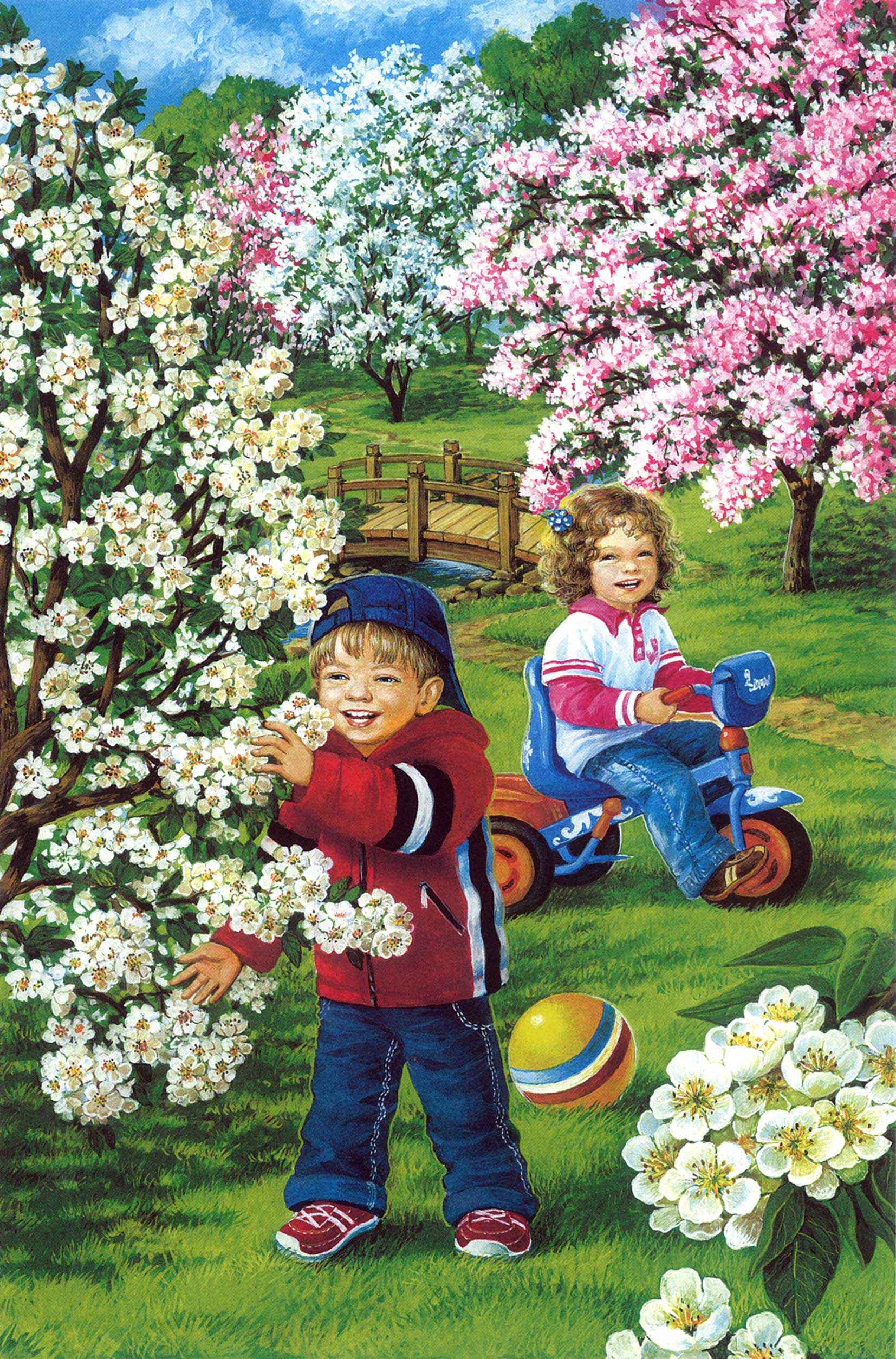 Картинки весны для детей доу