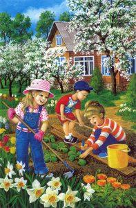 Детские картинки: весна пришла