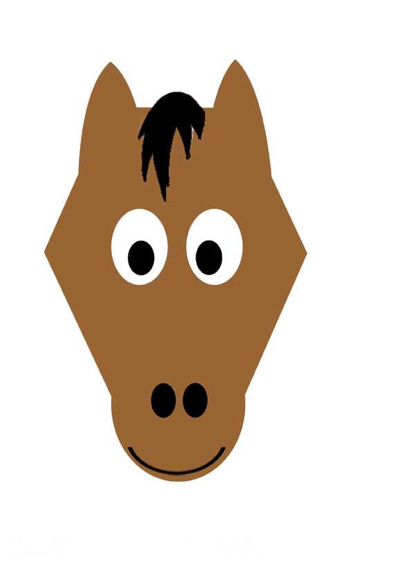 Своими руками маска лошади