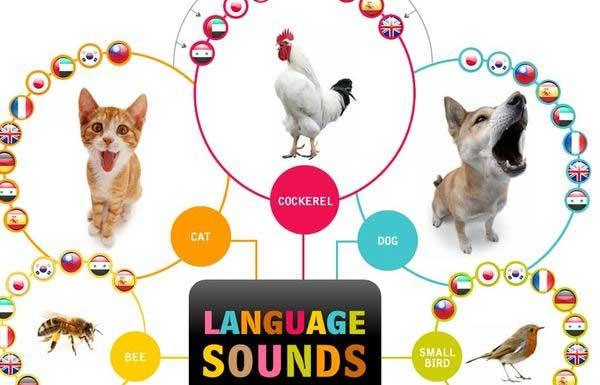 звуки животных на разных языках