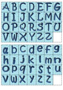 буквы английского алфавита