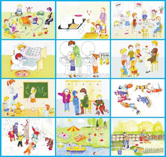 Сюжетные картинки для детей 2 х лет