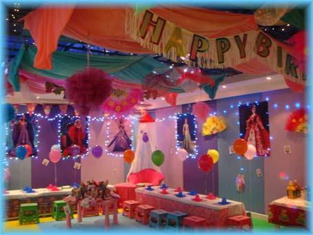 день рожденье в детском клубе