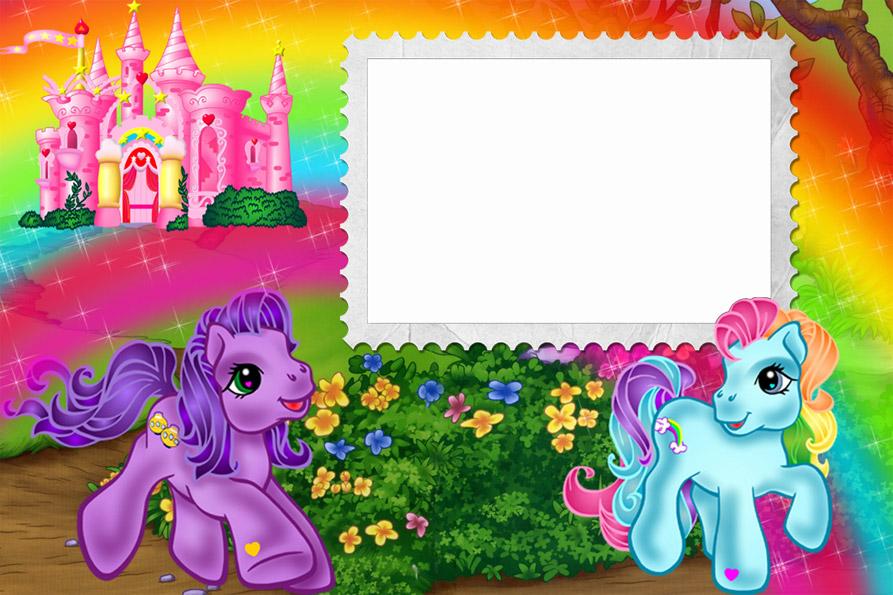 Фоторамки для девочек с принцессами