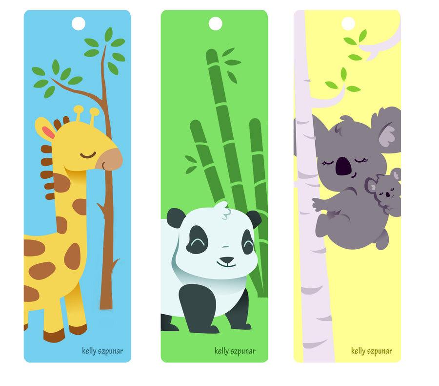 закладки для книг для детей