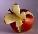 Детские поделки из яблок