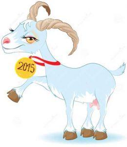 Голубая коза