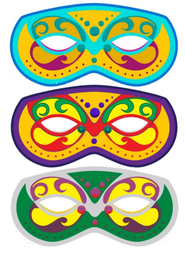 Изготовление маски своими руками с детьми 58