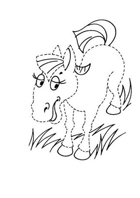 обводилка лошадка