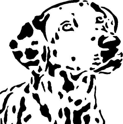 вытынанка собака