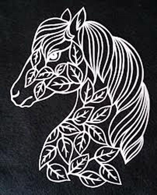 лошадь3 вытынанка