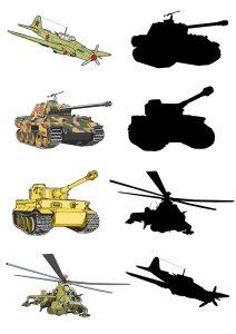 Картинки и карточки военной техники