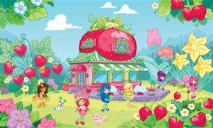 Фото-картинки, раскраски и песенки из мультфильма про Земляничку Шарлотту