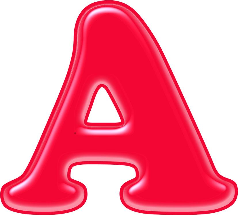 Образцы букв для оформления шаблоны