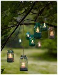 фонарики для сада