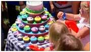 праздничный торт на день рожденье ребенка