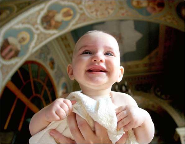 крещение ребенка в пост