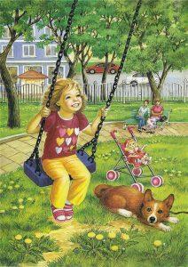 лето картинки для детей
