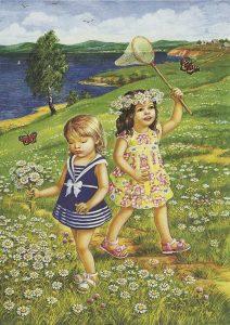 занятия летом для детей