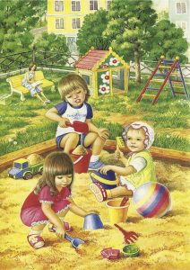 летние картинки для детей